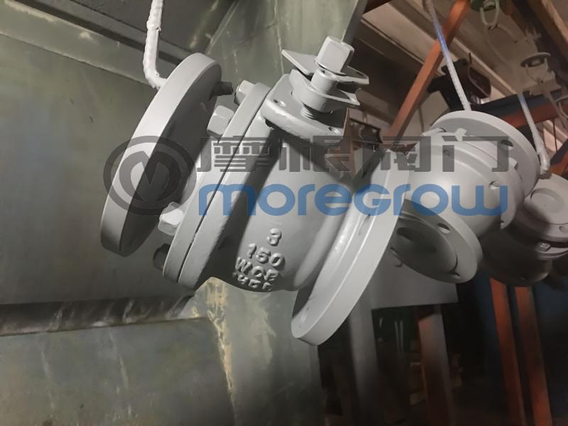 美标铸钢球阀摩根阀门公司生产